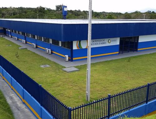 Sistema Construtivo com Isopor (EPS) – Escolas